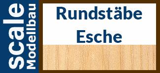 Esche Rundstäbe