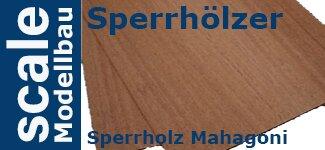 Sperrholz Mahagoni