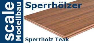 Sperrholz Teak