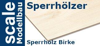 Sperrholz Birke