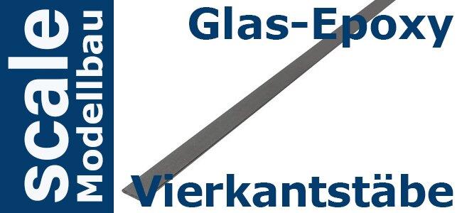 Glas Epoxy Vierkant