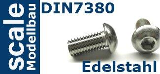 DIN 7380 Edelstahl