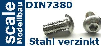 DIN 7380 Stahl verzinkt