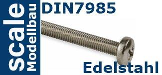 DIN 7985 Edelstahl