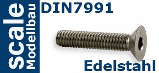 DIN 7991 Edelstahl