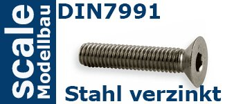 DIN 7991 Stahl verzinkt