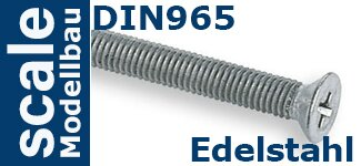 DIN 965 Edelstahl
