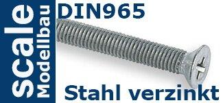 DIN 965 Stahl verzinkt