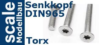 DIN 965 Senkkopf Torx