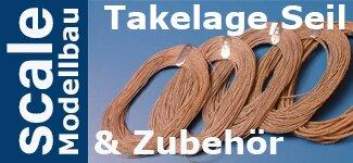 Takelage, Seil & Zubehör