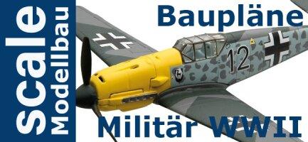 Baupläne Militärflugzeuge WW II