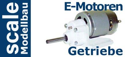 E-Motoren Getriebe