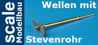 Wellen mit Stevenrohr