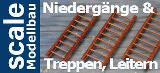 Niedergänge, Treppen und Leitern