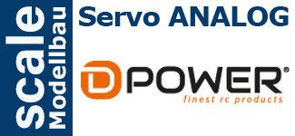 Servo Analog D-Power