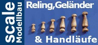 Reling, Geländer & Handläufe