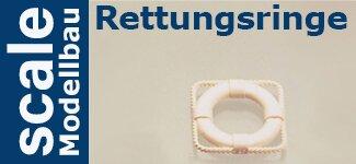 Rettungsringe / -boote / -inseln