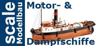 Motor- & Dampfschiffe