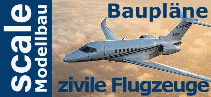 Baupläne zivile Flugzeuge