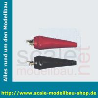 Batterieklemme  1 Paar (schwarz/rot)