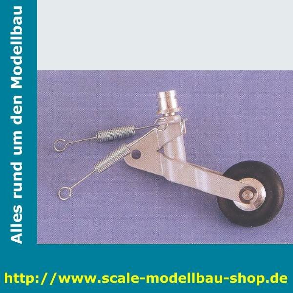 Heckrad lenkbar