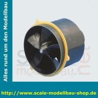 Impeller TurboFan 4000 5mm Motorwelle