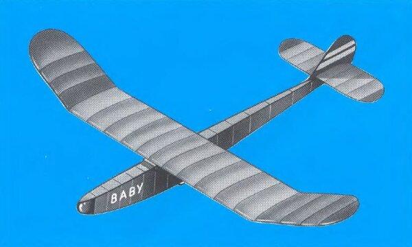 Aeronaut BABY Segelflugmodell Werkstoffpackung