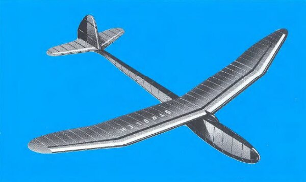 Aeronaut STROLCH Segelflugmodell Werkstoffpackung
