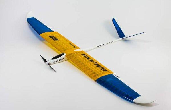 """Aeronaut Flugmodell Baukasten Elektrosegler """"Galaxy"""" 1306/00"""