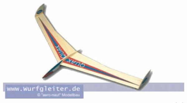 Aeronaut QUAX Balsa-Wurfgleiter