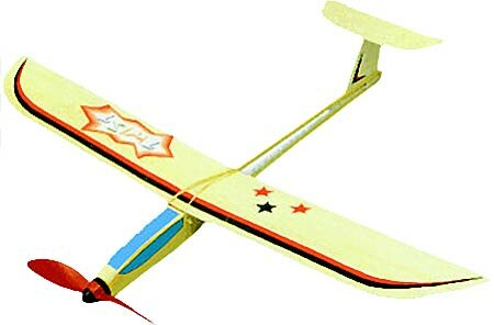 Aeronaut TWIST Gummimotormod. Baukasten