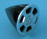 Aeronaut Alu-Kunststoff Spinner 75 mm rot