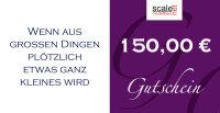 Geschenkgutschein Wert 150,00 €