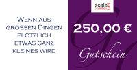 Geschenkgutschein Wert 250,00 €