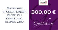 Geschenkgutschein Wert 300,00 €