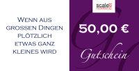 Geschenkgutschein Wert 50,00 €