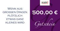 Geschenkgutschein Wert 500,00 €