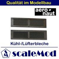 Aeronaut (5734/00) Lüfterblech vernickelt D 17x62mm...