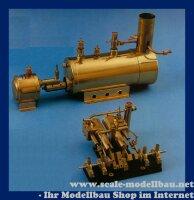 Aeronaut 2-ZylinderDampfmaschine liegend