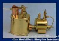 Aeronaut 3-Zylinder Dampfmaschine in Sternanordnung