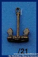 Aeronaut 562121 Hallanker (Metall) beweglich 26 mm VE 2 Stk