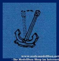Aeronaut 562130 Hallanker (Metall) beweglich 33 mm VE 2 Stk