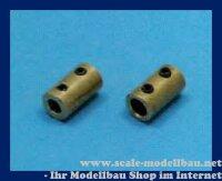 Aeronaut 703568 Buchsen Kupplung 4 / 3,17 mm VE 1 Stk