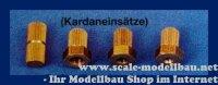 Aeronaut 703595 Kardaneinsätze (Ms) 4,0 mm VE 1 Stk