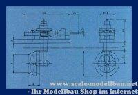 Aeronaut 7020/24 Präzisions Schottelantrieb 81,5 /...
