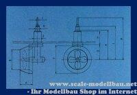 Aeronaut 7020/84 Schottelantrieb 61,5/130 mm VE 1 Stk