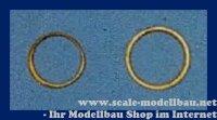 Aeronaut Ringe für beschlag (Tombak) 15 mm VE 20 Stk