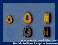 Aeronaut Herzblock / Doodshooft (Holz) 7mm dunkel VE 10