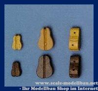 Aeronaut (5244/02) Violinblock (Holz) 1 Rille VE 10 Stk 8...