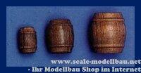 Aeronaut (5781/66) Fass dunkel (Holz) VE 10 Stk 16 mm
